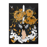 Ace of Swords Postcard