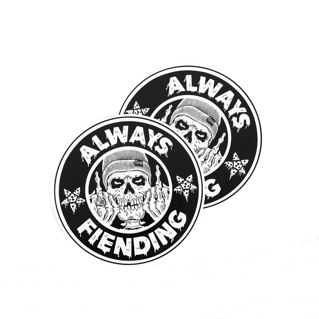 Fiend Always Fiending Ramp Sticker