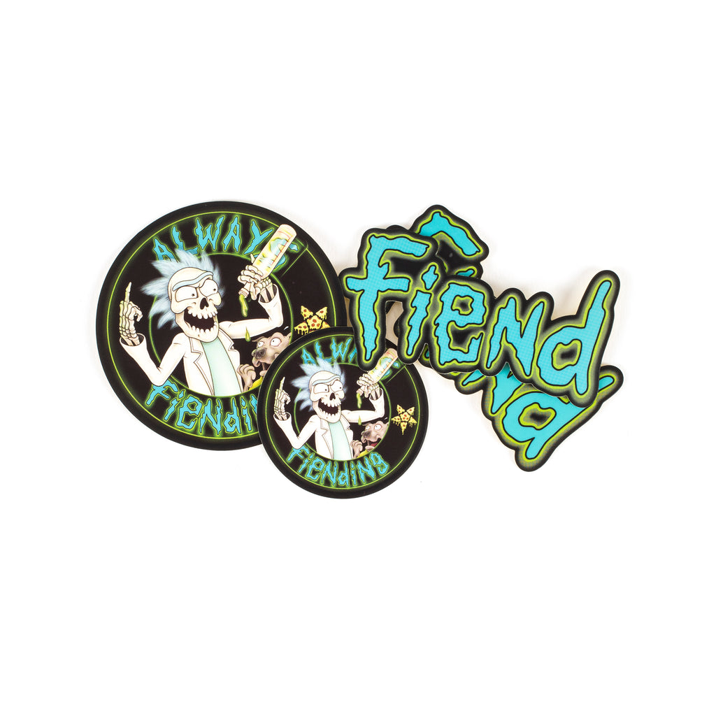 Fiend Reynolds and Shark Sticker Pack