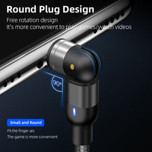 BUY 1 TAKE 1 URBANLAZY OMNIDIRECTIONAL MAGNETIC FAST CHARGING CABLE (IPHONE,ANDROID MICROUSB AND TYPE-C PIN INCLUDED)