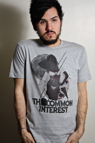 Common Interest (only in Small) on American Apparel Heather Gray Unisex