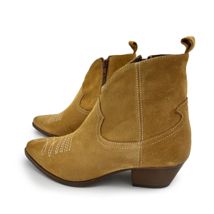 Amelie Cuoio Ankle Boots