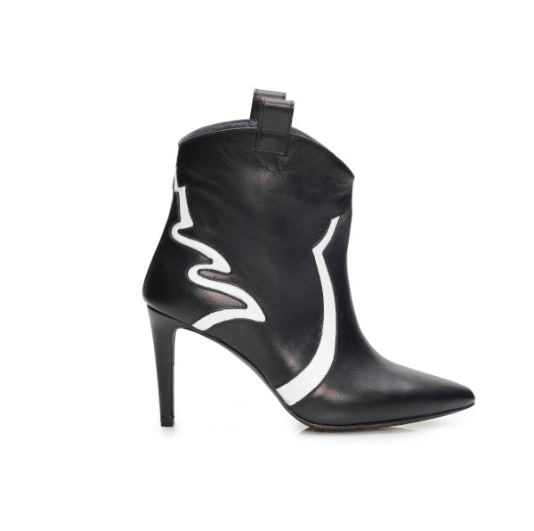 Belle Black Ankle Boots