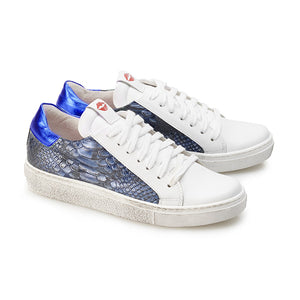 Michele White and Galaxy Sneakers