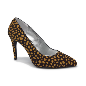 Francesca Leopard Pumps
