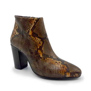 Madeleine Snake Ankle Boots