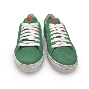 Isabelle Water Green Sneakers