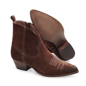 Image 3 of Amelie Brown Ankle Boots from Bisous Confiture