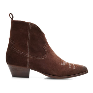 Image 5 of Amelie Brown Ankle Boots from Bisous Confiture