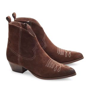 Image 1 of Amelie Brown Ankle Boots from Bisous Confiture