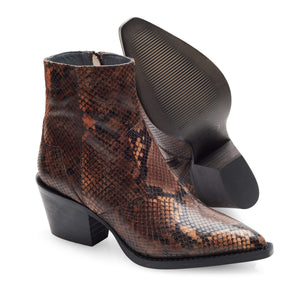 Image 4 of Caroline Brown Ankle Boots from Bisous Confiture