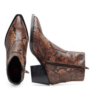Image 5 of Caroline Brown Ankle Boots from Bisous Confiture