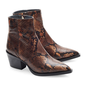 Image 1 of Caroline Brown Ankle Boots from Bisous Confiture