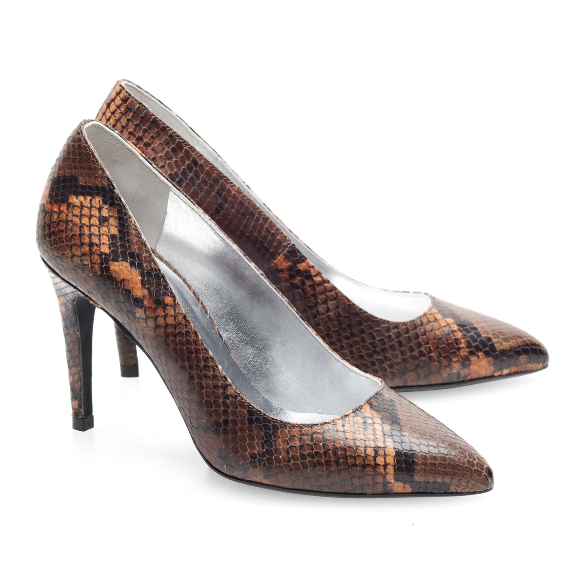 Image 1 of Francesca  Brown Caramel Pumps from Bisous Confiture