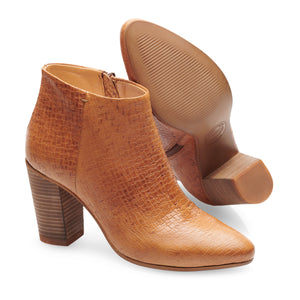 Image 3 of Madeleine Camel Ankle Boots from Bisous Confiture