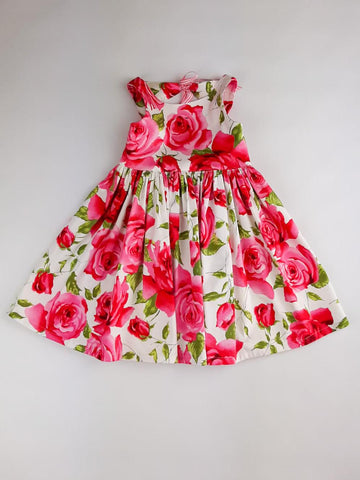 'Isabelle' Dress in Roses
