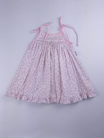 'Lulu' Dress in Pink Blossoms