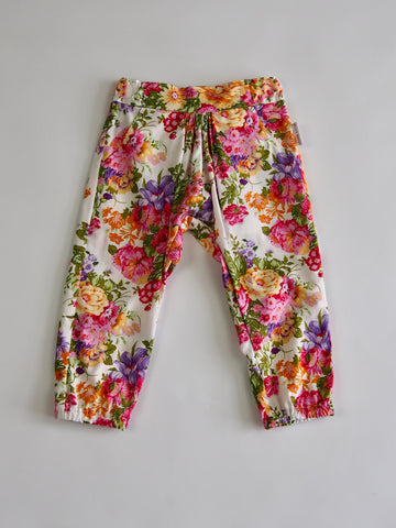 SALE 'Lucy' Pants - Raspberry Floral