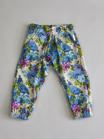SALE 'Lucy' Pants - Blue Floral