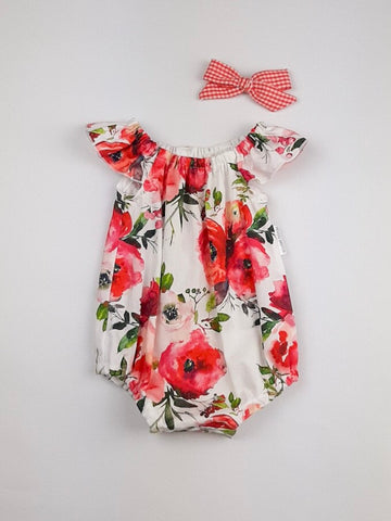 'Grace' Romper in Christmas