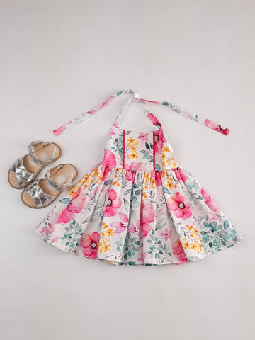 'Abigail' Dress in Spring Blooms