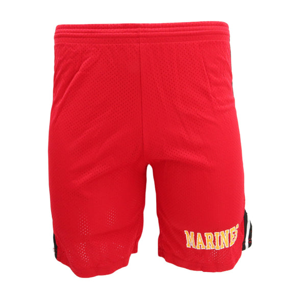 US Marines Mesh Athletic Shorts