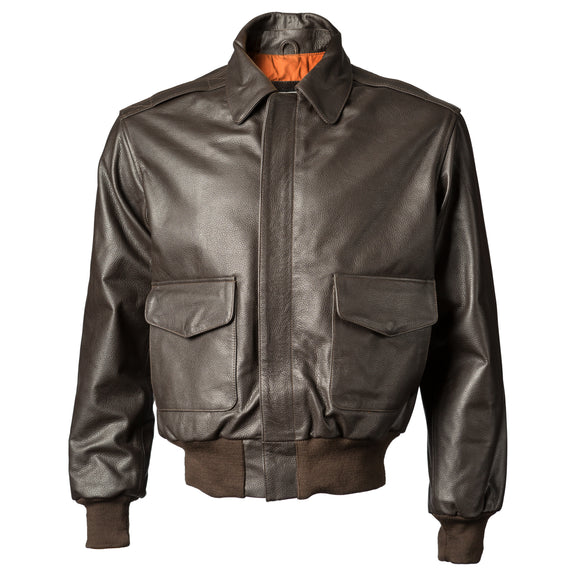Leather A-2 Style Jacket