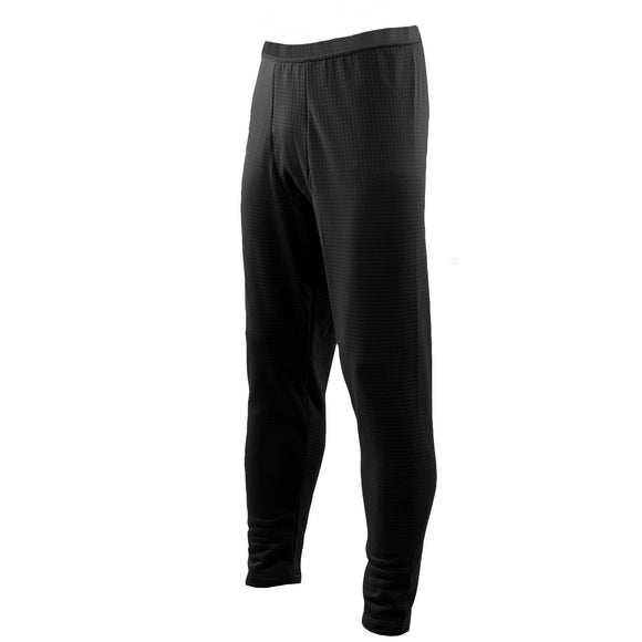 ECWCS Gen III Level 2 Thermal Grid Fleece Underwear— Black
