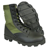 Jungle Boots with Eyelets - Panama Sole