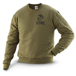 USMC Crew Neck Sweatshirt