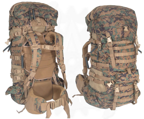 Marine Corps Issue ILBE Rucksack with Used Hip Belt