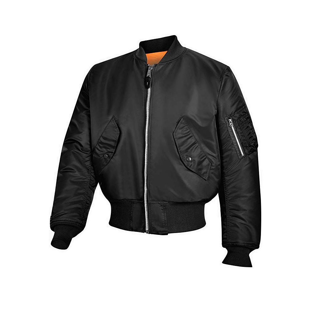 Jacket Military Style Military Ma1 Flight c4R5AjL3q