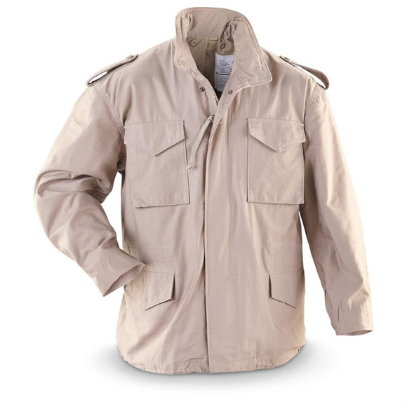 Mil Spec M-65 Field Jacket — Stained