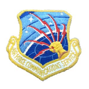 Vintage Air Force Communications Service Patch