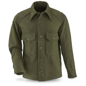 Korean Era Wool Field Shirt