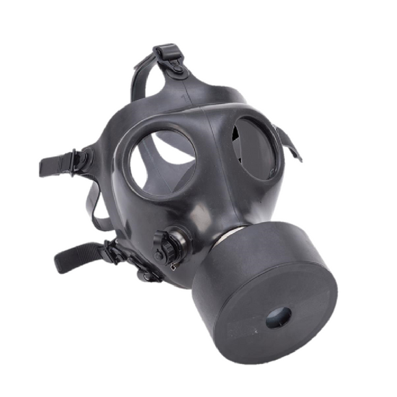 Israeli Tactical Gas Mask with Filter and Straw - Open Box
