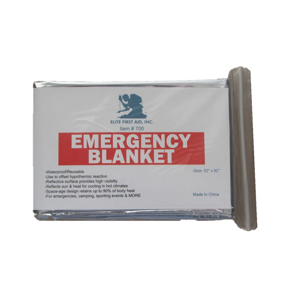 Emergency Blanket — 4 Pack