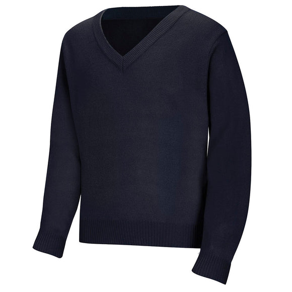 V-Neck Uniform Sweater