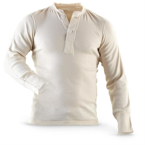 Wallace Berry Thermal Top - White, Used