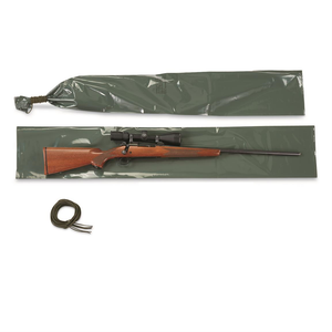 Polyethylene Waterproof Rifle Bag W/ Cord —2 PK