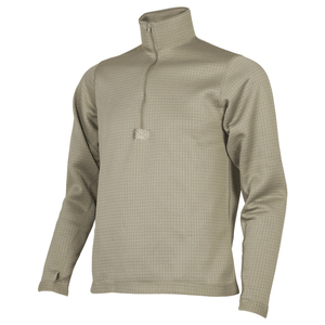 ECWCS Gen III Level 2 Thermal Grid Fleece Shirt—Tan 499