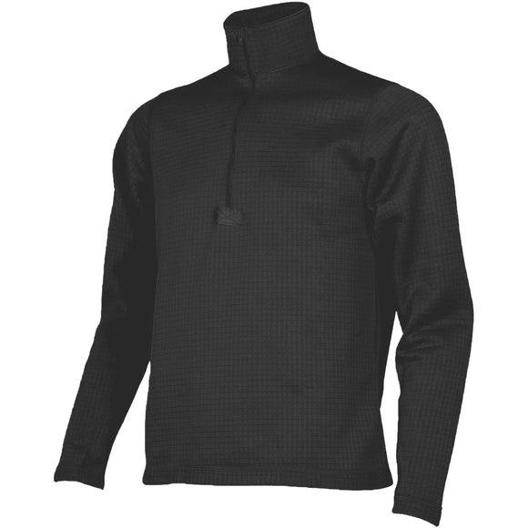 ECWCS Gen III Level 2 Thermal Grid Fleece Shirt— Black