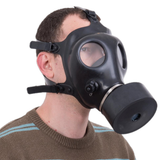 Israeli Rubber Respirator Mask With Extra Filter