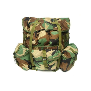 G.I. Medium Alice Pack Woodland Camo— Used