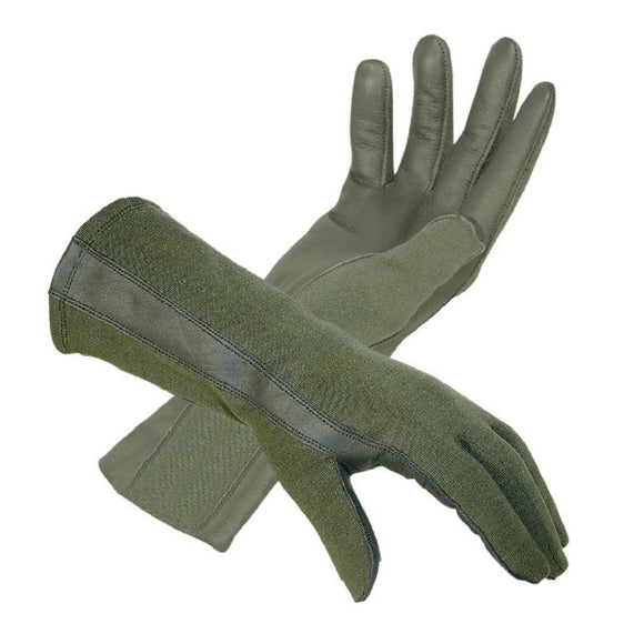 GI Nomex Summer Flyers Gloves— Olive Drab