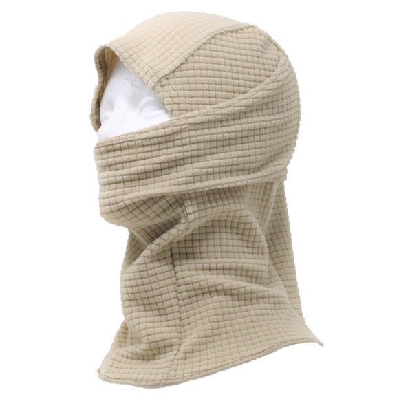 Grid Fleece Balaclava Hood
