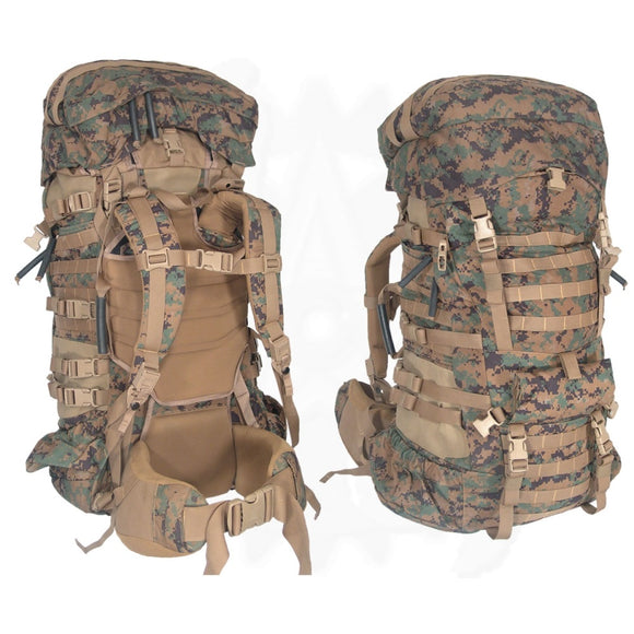 NEW COMPLETE USMC Issue ILBE Rucksack