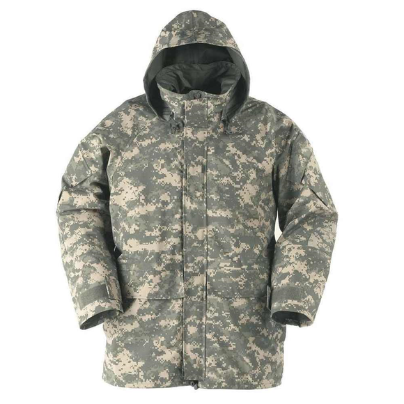 ECWCS Gen II Level 6 Extreme Cold/Wet Weather Parka ACU— Used