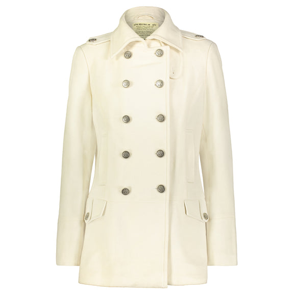 Womens Wool Long Peacoat