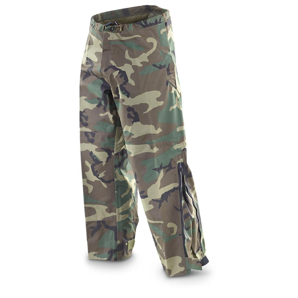 31bab5741ea1f US Military GI Gore-Tex® ECWCS Pants with Pullstring Waist, Woodland ...